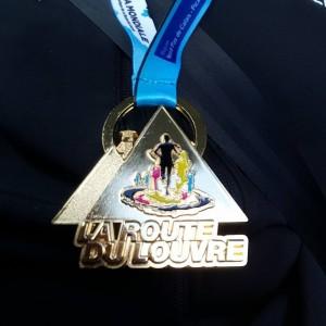 Médaille Louvre