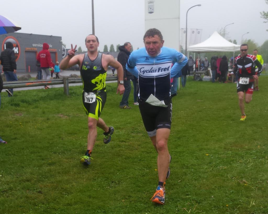 Sébastien triathlon Hénin